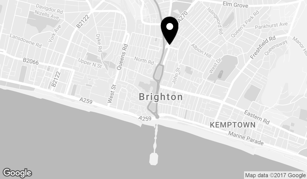 Google Map of 30 Richmond Place, Brighton, UK