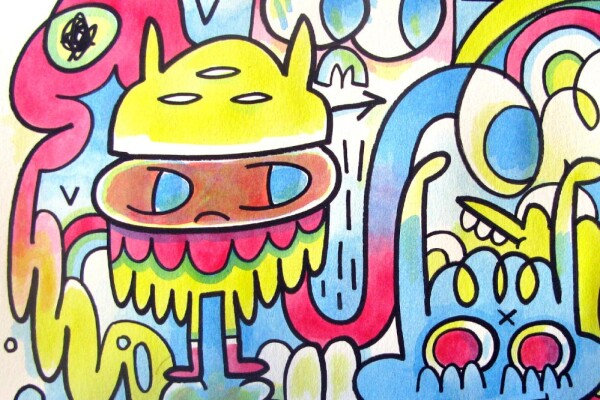 Getting R.A.D with Jon Burgerman